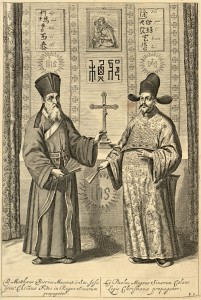 Matteo Ricci and Xu Guangqi